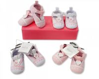 "BSS428, ""Nursery Time"" Brand Baby Shoes - Girls £2.50.  pk8.."