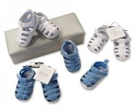 "BSS713, ""Nursery Time"" Brand Baby Sandals - Boys £2.70.  pk8.."
