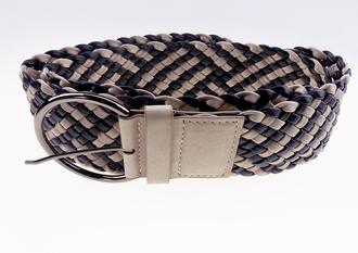 Style19: Ex Major High Street Ladies Wide Plaited Belt £1.00.  pk12..