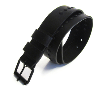 Style3,  Ex Major High Street Mens Studded Black Belt £1.50.  pk12..