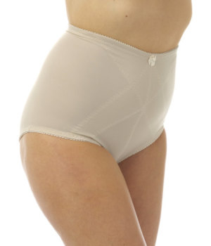 "MAK16, ""Marlon"" brand ladies bodyshaper firm control brief £2.20.  pk12.."