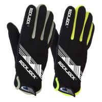 "GLA163, ""RockJock"" Brand Unisex Sports Glove with Gripper Palm, Neon Trim & Velcro Fastener £2.20.   pk24.."