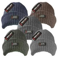 HAI611R, Men's Marl Hats with Rockjock R40 Thermal Insulation £1.25,  pk12....