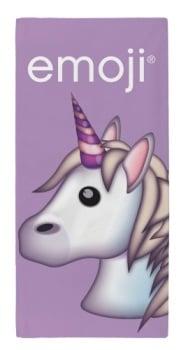 "EMJ134, Official ""Emoji""""Unicorn"" Beach Towel £5.25.  pk6..."