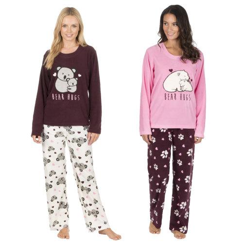 34B765, Ladies microfleece pyjama with