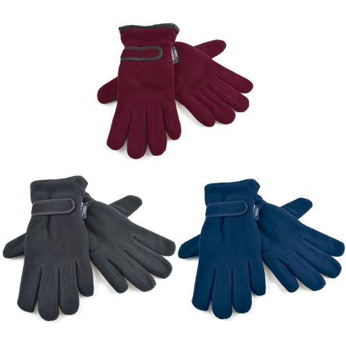 GL136CA, Ladies thinsulate polar fleece gloves £1.65.   pk12...