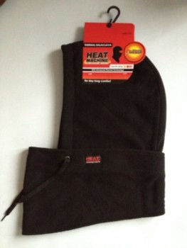 "Code:1348, ""Heat Machine"" Brand Adults Polar Fleece Balaclava Snood £2.65.  pk12.."