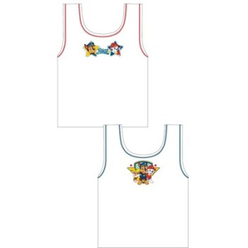 """*Code:27855, Official """"Paw Patrol"""" boys 2 in a pack vest £1.90.  18pks..."""
