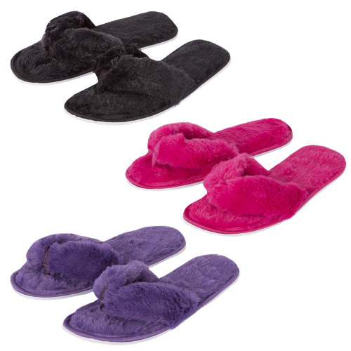 102B016, Ladies flip flop slipper £2.50.  pk36...