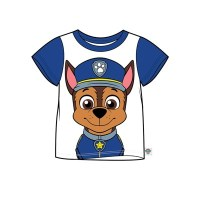 """Code:28015, Official """"Paw Patrol""""""""Chase"""" boys t shirt £2.25.  pk18.."""