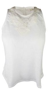 LTP0326, Ex Major Highstreet Ladies Sleeveless Crochet Top £2.75.  PK12..