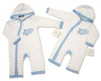 "BIS2024, ""Nursery Time"" Brand Baby Boys Hooded All in One £3.95.  pk6.."