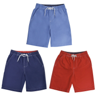 *LN133A, Boys swim shorts with contrast colour waistband £3.75.  pk36..
