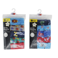 BR209A, Boys 5 in a pack briefs £2.35.  12 pks....