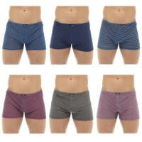 BR167B, Mens 3 in a pack Jersey Boxer Shorts £2.75.  40pks...