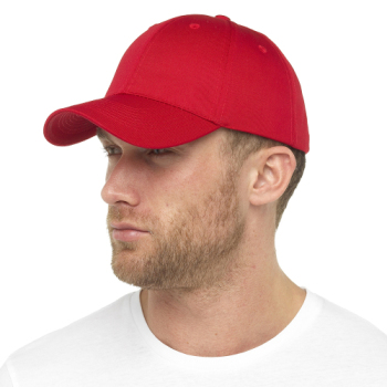 GL791RD, Mens Red Baseball Cap £1.15.  pk12...