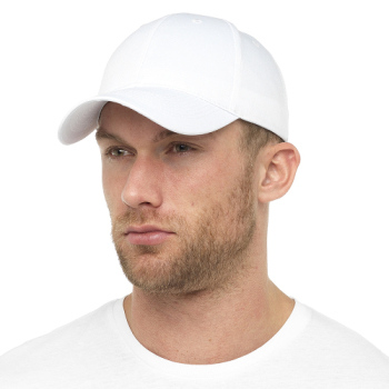 GL788WH, Mens White Baseball Cap £1.15.  pk72...