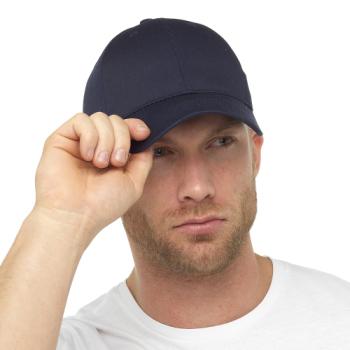 GL790NY, Mens Navy Baseball Cap £1.15.  pk12...