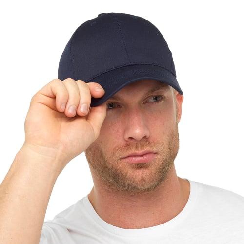 GL790NY, Mens Navy Baseball Cap £1.10.  pk48...