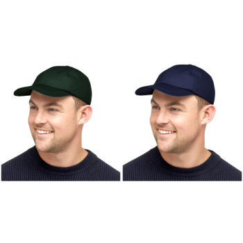 GL781, Mens Waxed Baseball Cap £2.50.  pk72...