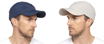 *GL778, Mens Baseball Cap with Folding Peak £2.35.  pk12...