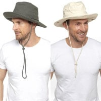 GL779, Mens Safari Hat £3.50.  pk24..