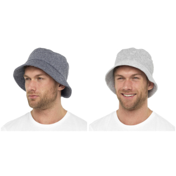 GL784, Mens Towelling Bucket Hat £2.00.  pk72..