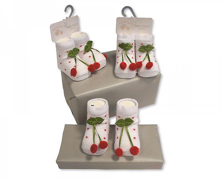 BW2189, Baby Girls Socks £1.50.  pk6..