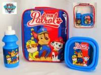 "Code:7189, Official ""Paw Patrol"" boys 3 pcs lunch bag set £3.85.  pk6..."