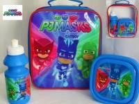 "Code:7449, Official ""PJ Masks"" boys 3 pcs lunch bag set £3.85.  pk6..."