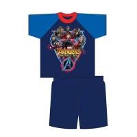 """SKP4643, Official """"Marvel Avengers"""" boys shortie pyjama £3.20.  pk18..."""
