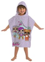 """LOL2023, Official L.O.L Surprise """"Theatre Club"""" Hooded Poncho £5.25.  pk6.."""