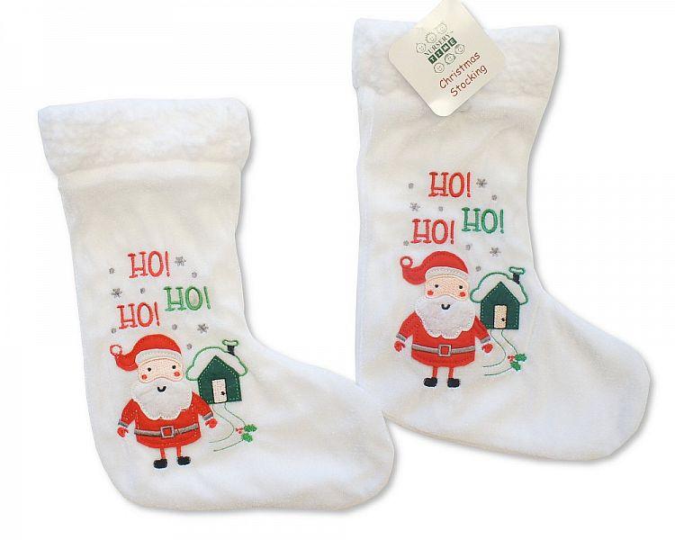 GP0848, Baby Christmas Stocking - Santa £1.95.  PK6..