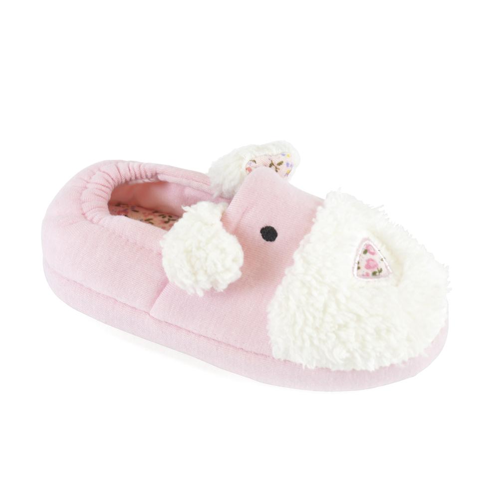 FT1317, Girls dog slipper £2.85.  pk24...