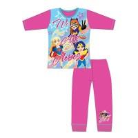 "Code:29790, Official DC ""Superhero Girls"" girls pyjama £4.40.  pk18.."