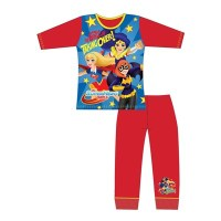 "Code:29797, Official DC ""Superhero Girls"" girls pyjama £4.40.  pk18.."