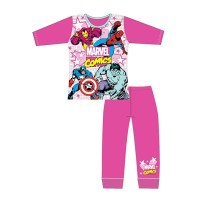 "Code:29822, Official ""Marvel Comics"" girls pyjama £4.40.  pk18.."