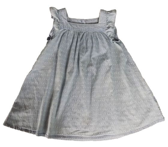 BAB0082, Ex N-xt Baby Girls Denim Dress £3.00.  PK12..