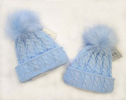 PRODUCTS   -Baby Pom Pom Hats fcbb6862a8f