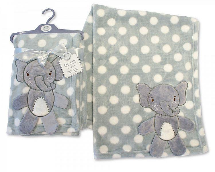 BW985, Baby 3d-Wrap - Elephant £4.95.  PK2..