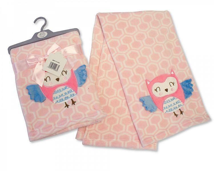 BW983, Baby 3d-Wrap - Owl £4.95.  PK2..