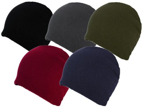 HAI650, Ladies Fleece Beanie with Cosy Fleece Lining £0.90.  pk72.......