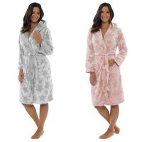 **LN817, Ladies Star Embossed Hooded Gown £9.95.  pk12...