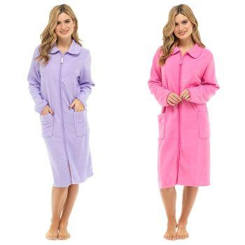 LN730, Ladies Polar Fleece Zip Thru Tobe £8.10.  pk6..