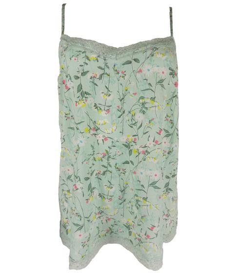 LNW0475, Ex M-S Ladies Strappy Lace Floral Print Camisole Vest £1.50.  PK24