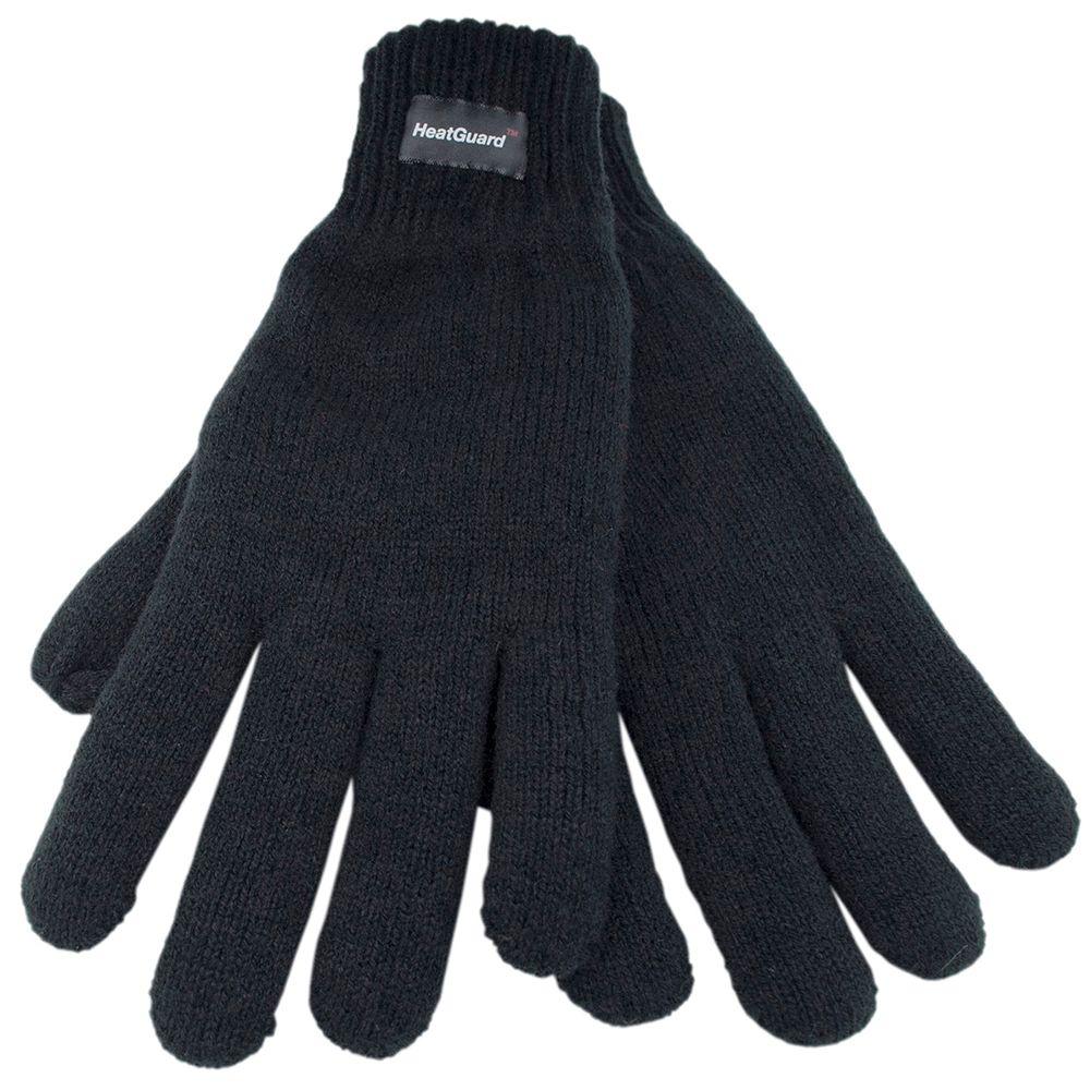 GL130BK, Mens thinsulate acrylic black gloves £1.75.   pk12..