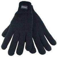 GL130BK, Mens Black Thinsulate Knitted Gloves £1.85.   pk12..