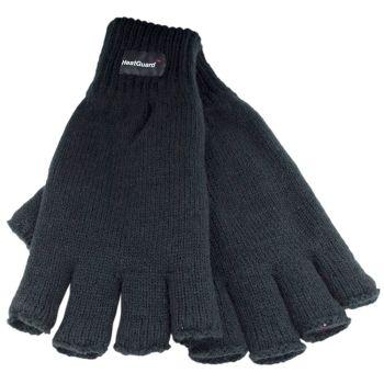GL131BK, Mens thinsulate fingerless black gloves £1.90.   pk12..