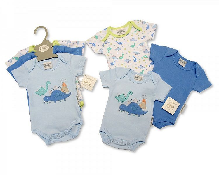 GP0856-1, Baby 3 Pieces Bodysuit Gift Set - Dino £4.15.  6PKS...