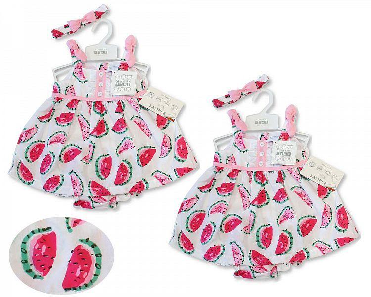 *BIS2178, Baby Dress 9-24 Months - Melon £4.65.  PK12...